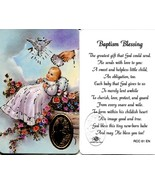 Baptism Blessing - EB532C - The Greatest Gift That God Could Send Wallet... - $1.99