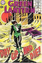 Green Lantern Comic Book #65, DC Comics 1968 VERY FINE - $40.53