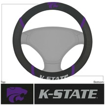 Fanmats NCAA Kansas State Wildcats Embroidered Steering Wheel Cover Del 2-4 Days - $18.31