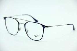 New RAY-BAN Rb 6377 2906 Blue Eyeglasses Authentic Rx RB6377 48-21 - $56.45