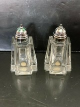 Hand Crafted by Crisa for Princess House Cut Lead Crystal Salt and Pepper - $15.00
