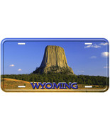 Wyoming Devils Tower Tag Novelty Car License Plate - $14.80