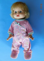 """2006 16"""" Little Mommy Walk & Giggle Doll Real Loving Interactive Baby Mattel Vgc - $28.71"""
