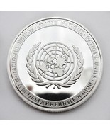 United Nations Peacekeeping Operations UN And Permanent Members Medal Coin - $5.99