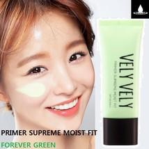 Imvely Vely Vely Primer Supreme Moist Fit #Forever Green Tone Up Brightening - $29.65