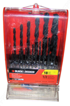 Black+Decker Master Drill Bit Non Powered Hand Tool Set - $7.00