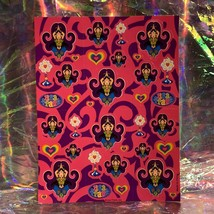 HTF MINT VINTAGE LISA FRANK Complete Genie Sticker Sheet