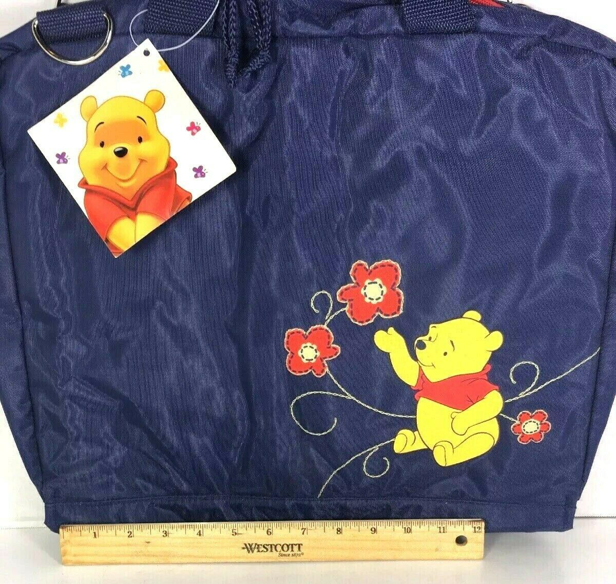 Winnie the Pooh Large Blue Nylon Travel Bag  image 7