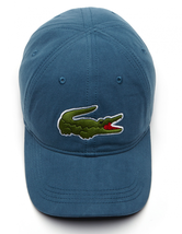 Lacoste Men's Classic Gabardine Premium Cotton Big Croc Logo Adjustable Hat Cap image 9