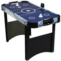 Air Hockey Table Indoor Sports Family Game Room Electronic Scoring Pushe... - $64.34