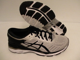 shoes size grey running gel Asics black kayano 24 mid 10 men's silver wide 2E Pa7wRwg0q
