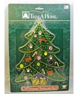 """Stained """"Glass"""" Christmas Tree Suncatcher Trim a Home Kmart New in Package - $14.99"""