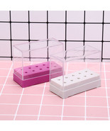 10holes nail drill bit holder stand displayer organizer nail art manicur... - $4.00
