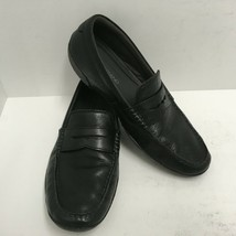 Cole Haan Men's MOTOGRAND Penny Loafer Black Leather Driving Shoes Size ... - $42.06