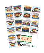 USPS 2017 Delicioso Book of 20 Forever Stamps MNH - £7.95 GBP