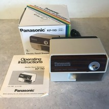 Panasonic Auto Stop Electric Pencil Sharpener Model KP-110 Mint in Box - $21.84