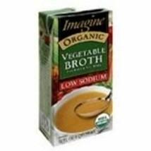Imagine Foods Low Sodium vegetable Broth (12x32 Oz) - $95.06