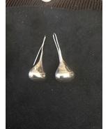 Sterling  Silver Hanging Tear Drop Earings - $30.00