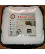 BIDDEFORD HEATED QUILTED MATTRESS PAD KING - $89.99
