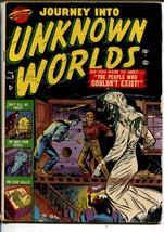 Journey Into Unknown Worlds #9  1952-Atlas-Joe Sinott autograph-eyeball-VG- - $343.38