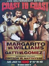Antonio Margarito Vs Paup Williams 8X10 Photo Boxing Poster Picture Gatti Gomez - $4.94