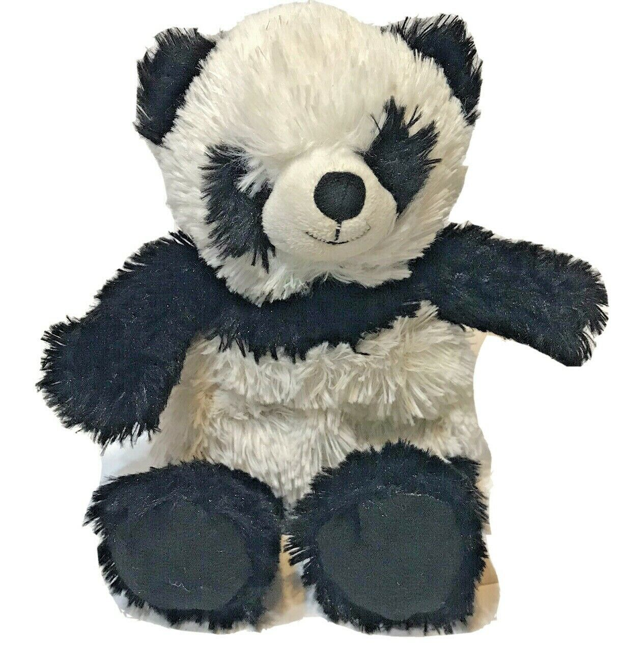 "Primary image for Warmies Cozy 10"" Panda Bear Plush Black and White Microwavable"