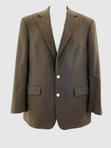Brooks Brothers 1818 Fitzgerald Blue Blazer 39R Loro Piana Gold buttons  - $71.84