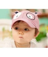 Red Red Hat Boys Girls Toddler Infant Props Kids Infant Sun Hat Soft Bri... - $7.87