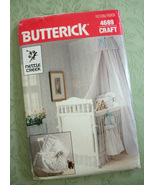 Babies Crib Sewing Pattern Butterick 4689 Uncut Baby Nursery Accessories... - $12.99