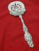 Lily Pattern Silvercraft Cast Sterling Silver Tomato Server   #10610 - $89.00