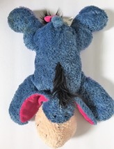 Disney Store Stamped Blue and Purple Floppy Eeyore Plush Stuffed Animal Soft Toy - $39.99