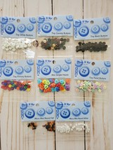Craft BUNDLE 1:  Mini Buttons.  Dress It Up