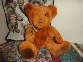 Russ Berrie Westin Bear Copper Plush Retired Nr 35879 - $67.54