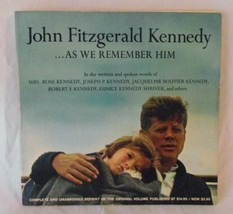 John Fitzgerald Kennedy As We Remember Him JFK History Biography Photos ... - $19.67