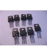 TIP137 SGS PNP Power Silicon Darlington Transistor TO-220 - NOS Qty 8 - $4.74