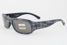 Serengeti Genova Gray Plaid / 555nm Polarized Sunglasses 7450 - $127.71