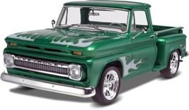 Model Car Truck Kit New 1965 Chevy Stepside Pickup Detailed Plastic Scal... - $81.15