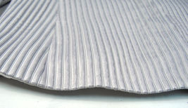 Giorgio Armani Black Label Raise Stripe Silver Grey Jacket Womens 38 Italy image 7