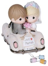 Precious Moments,  Just Married, Bisque Porcelain Figurine, 103018 - $84.60