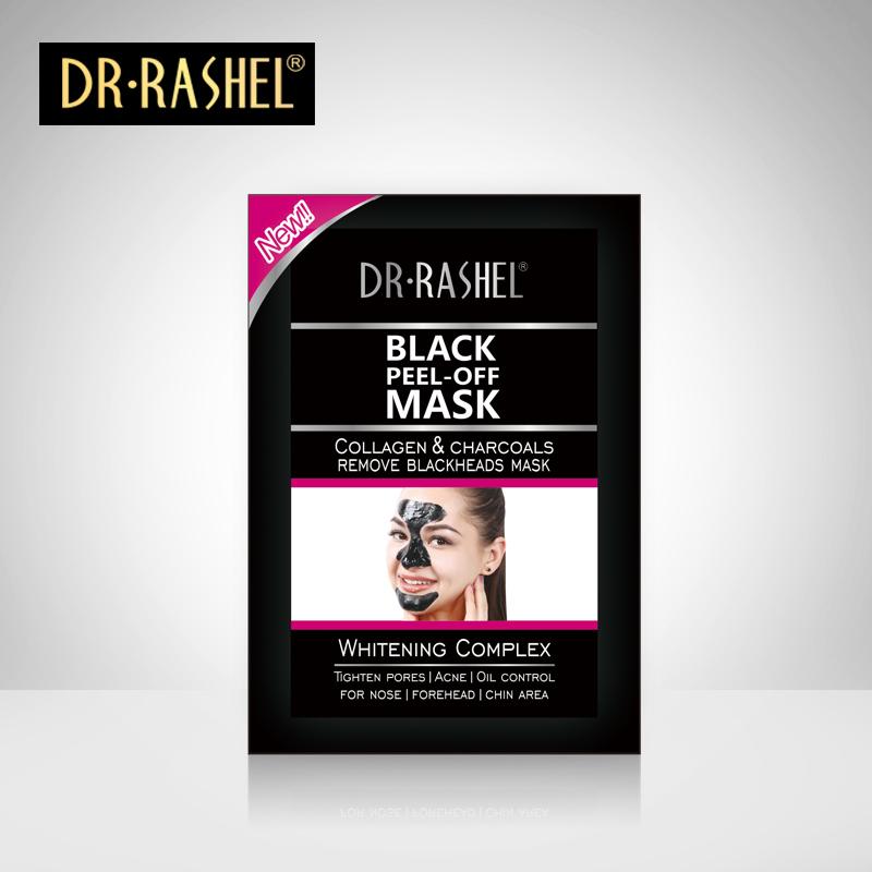 5 pcs Black Mask Dr.rashel Blackhead Remover Face Masker Charcoal Removedor Faci