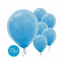 "Powder Blue Latex Round Balloons 12"" 72 Ct - $9.89"