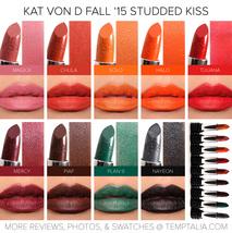 Kat Von D Studded Kiss Lipstick HELLBENT 0.10oz Full Size - $18.99