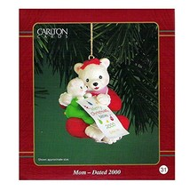 Carlton Cards Heirloom Mom Ornament Dated 2000 #CXOR-034C - $17.99