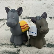 Fisher Price Little People Nativity Scene Replacement Donkey Figures 200... - $11.88