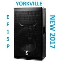"NEW Yorkville EF15P Elite Series Powered Speaker 15"" 1200 Watts Active C... - $1,429.00"