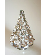Pottery Barn Mercury Glass Christmas Tree   Small Lit Silver  new in the... - $146.52
