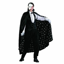 Charades the Phantom of the Opera Mysterious Adult Mens Halloween Costum... - $61.94