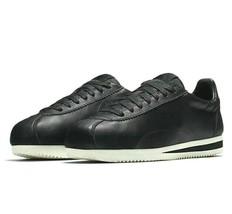 Nike Classic Cortez Premium No Swoosh Leather Black Wax 807480-003 Mens ... - $99.95