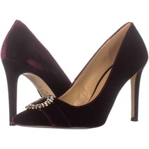 MICHAEL Michael Kors Viola Pointed Toe Pumps 526, Oxblood, 10 US - $48.95