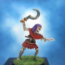Painted Ral Partha Miniature Skeleton/Mummy - $27.88